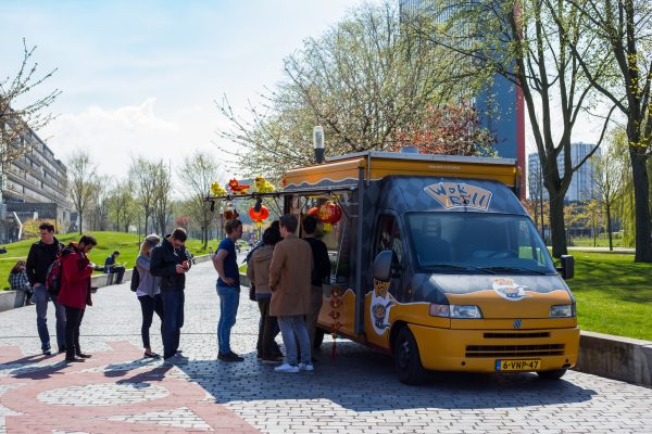 Campus TU Delft –  Food Truck